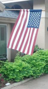 idependence day flag at half mast edit