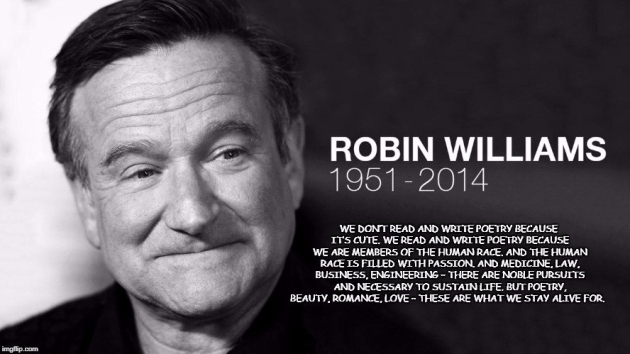 robin williams poetry