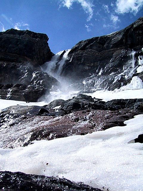 bow glacier falls hike_upper falls 6