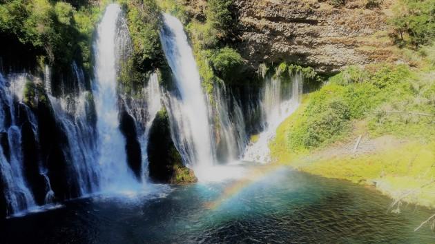 Burney Falls rainbow